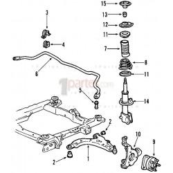 Barra estabilizadora|Chevrolet|Impala||Grupo: Suspensión