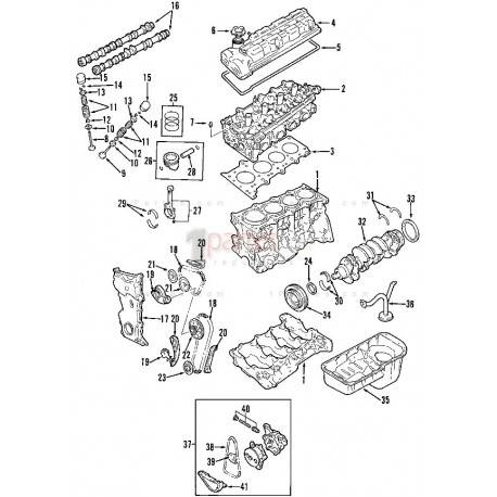 Arbol de levas de admisión Chevrolet Grand Vitara Suzuki