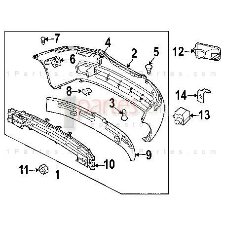 Cubierta|Chevrolet|Aveo|Sonic|T200||Grupo: Parachoques