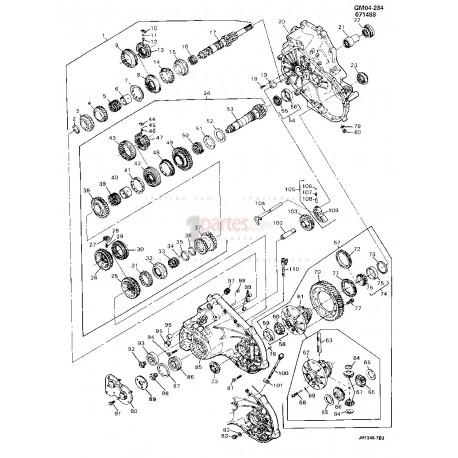 Sincronizador de 3ra Y 4ta|Chevrolet|Cavalier|08672385