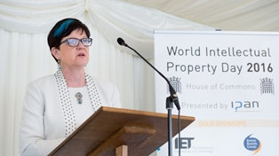 Baroness Lucy Neville-Rolfe DBE CMG, Parliamentary Under Secretary of State for the Department of Business, Innovation & Skills and Minister for Intellectual Property