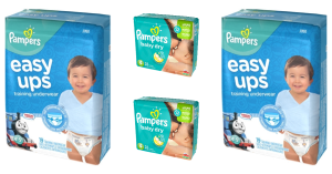 Pampers Diapers Or Easy Up Deal At Walgreens!