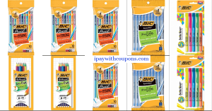 FREE AT THE DG! Bic Stationery Scenario!! #deannasdeals