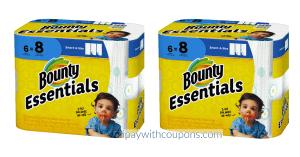 Bounty Essential Paper Towels $3.49 Each! Walgreens Deals #deannasdeals