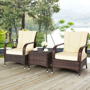 Costway 3PCS Outdoor Patio Set Clearance Price At Walmart