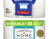 $3.79 Complete Home Paper Towels or Bath Tissue At Walgreens!