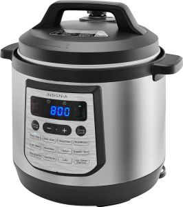 Insignia Pressure Cooker 8 Quart $39.99 At Best Buy!