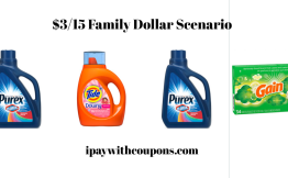 $3/15 Family Dollar Scenario Pay $3.85