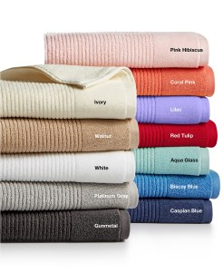 Martha Stewart Quick Dry Towel Collection Starting $2.99