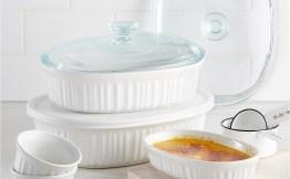 Corningware 10-Pc. Bakeware Set $29.99!