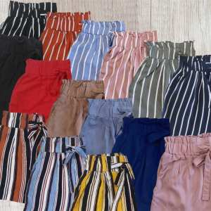 Tie Front Shorts $9.99 + Free Shipping!