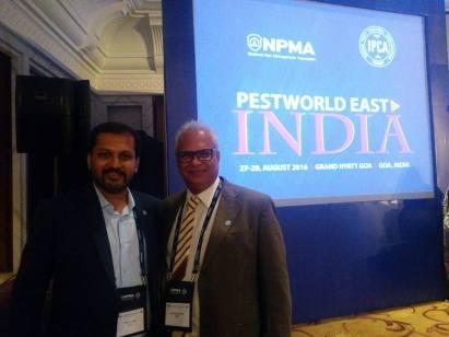 IPCA President Raju Parulkar with Convenor Nikhil Khanse