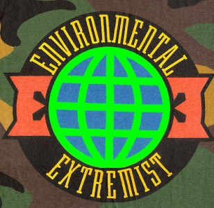 Environmental extremists color