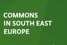 """IPE's new publication: """"Commons in South East Europe""""!"""
