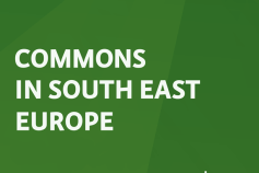 "IPE's new publication: ""Commons in South East Europe""!"