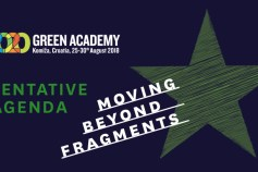 First version of the Green Academy 2018 program!