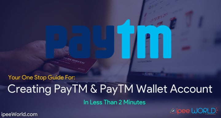 How To Create A PayTM Wallet Account