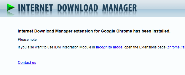 How to Install IDM Extension on Google Chrome 2