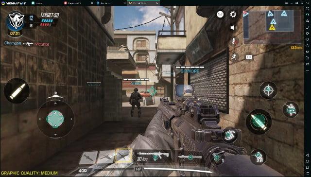 call of duty pc emulator