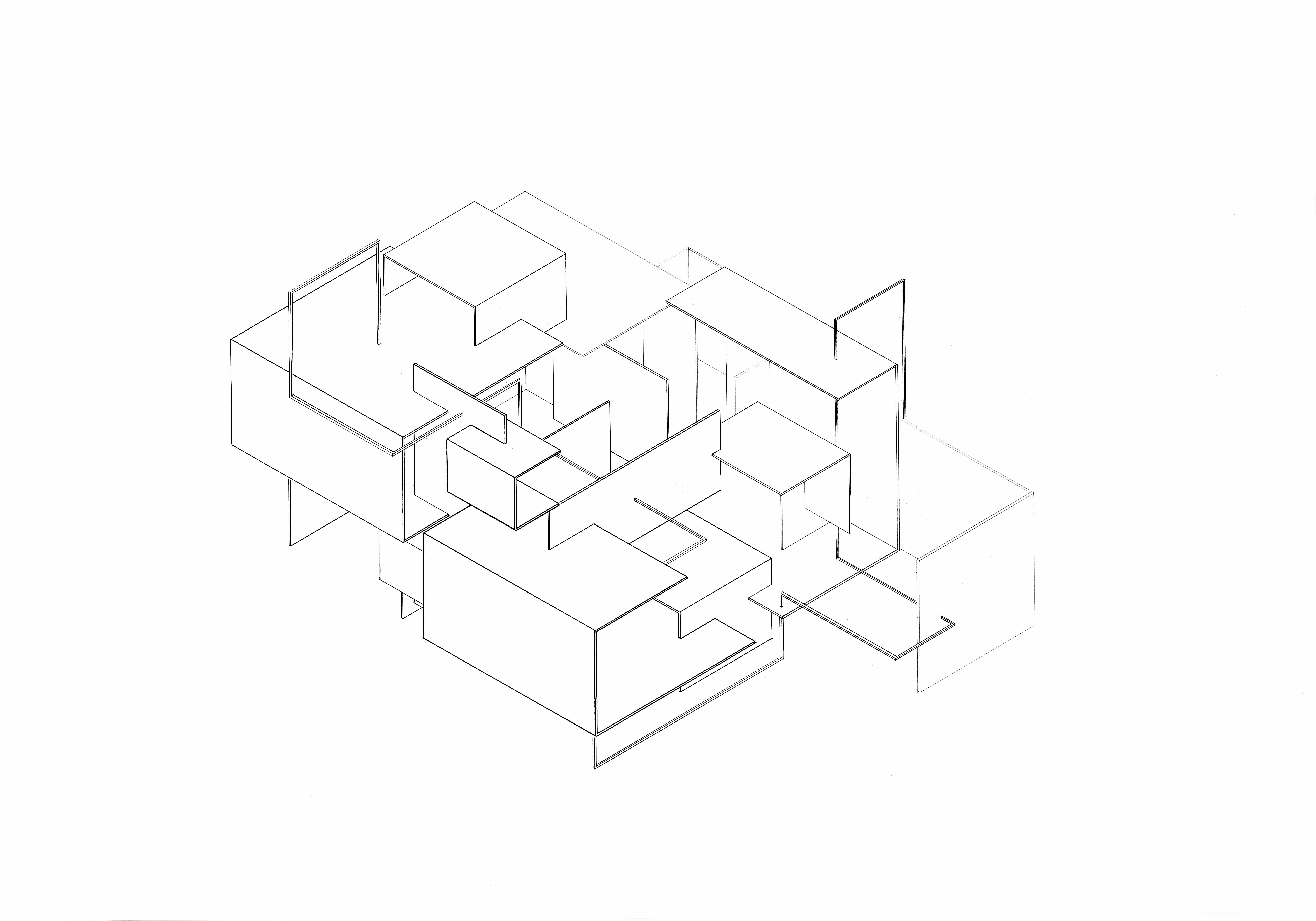 Related image people t Axonometric drawing Drawings