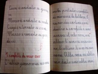 pensierino di seconda elementare di Susanna Albini - I confetti di mio zio