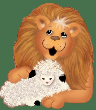 Leão e ovelha