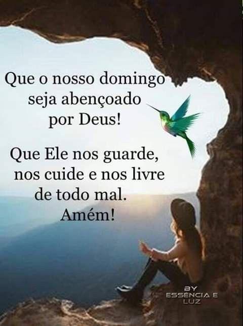 Domingo abençoado por Deus
