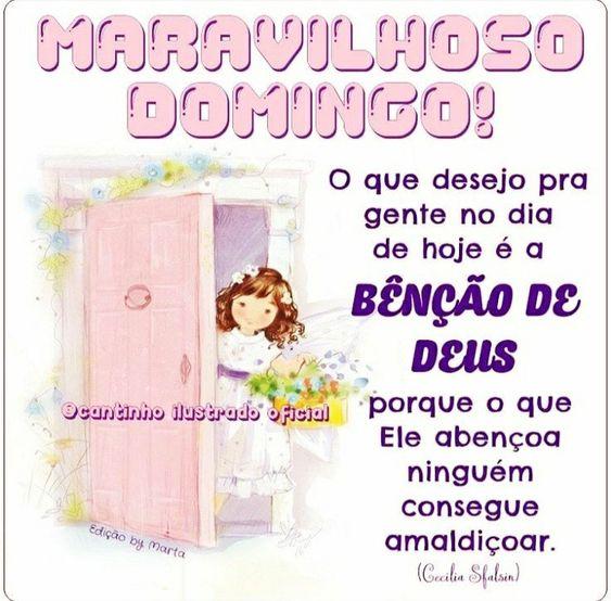 Maravilhoso Domingo com as bênçãos de Deus