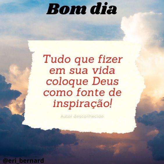 Bom dia com Deus em sua vida
