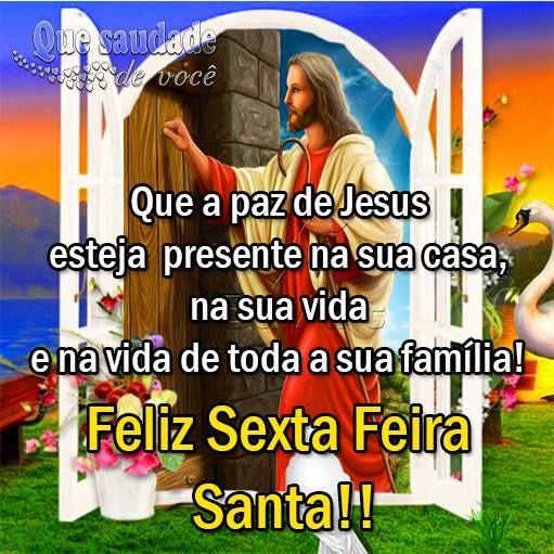 Sexta-Feira Santa na paz de Jesus