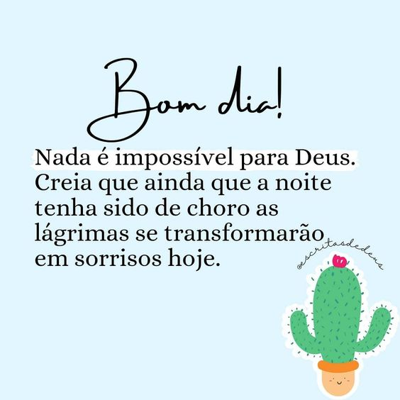 Bom dia com fé em Deus