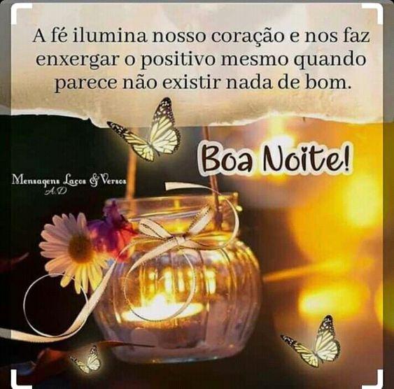 boa noite a fé