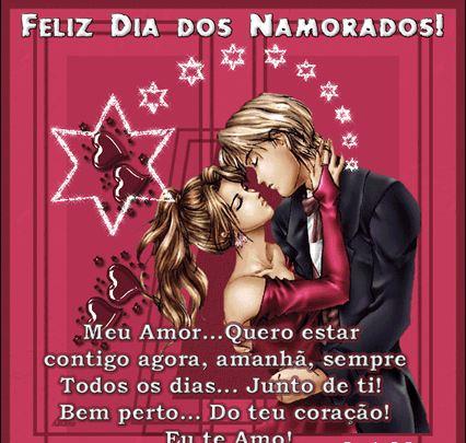 Feliz dia Dos Namorados meu amor