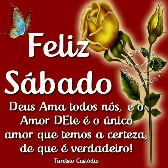 Feliz Sábado Deus