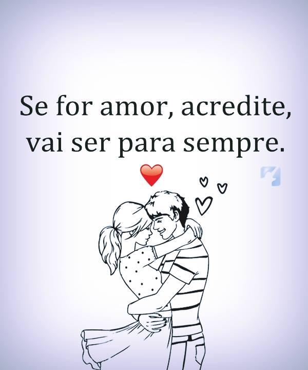 acredite no amor