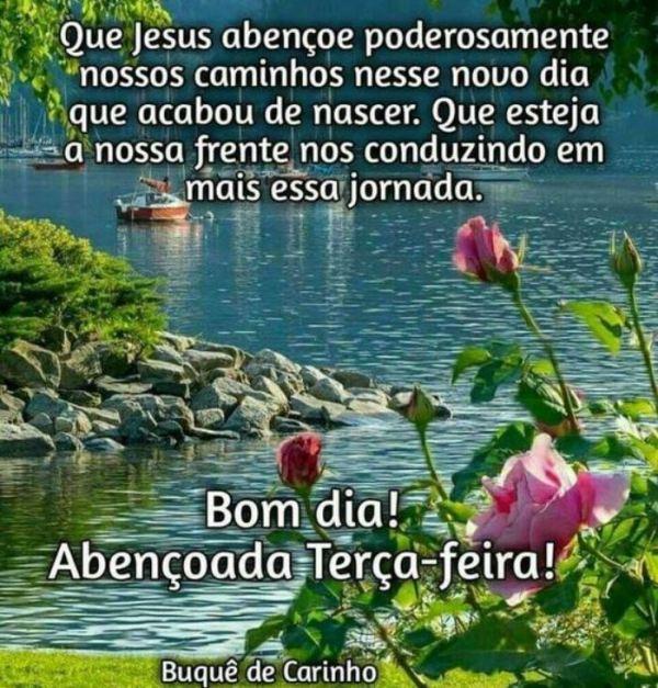 Que Jesus abençoe nossos caminhos