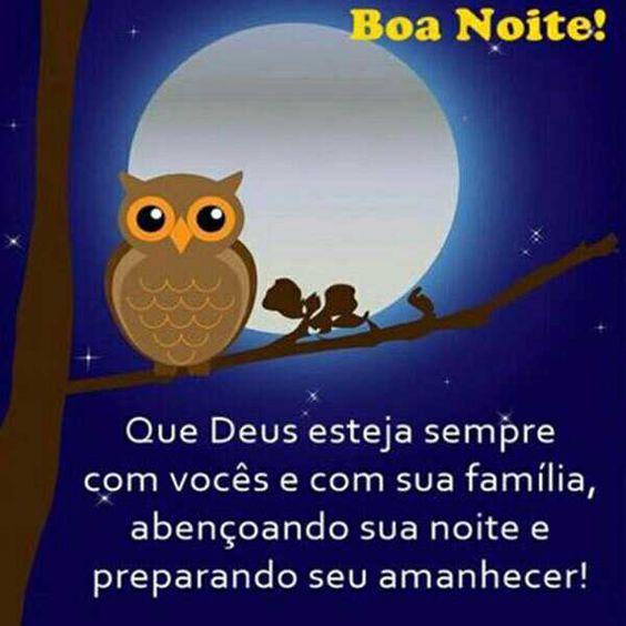 Boa noite Deus com você