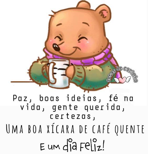 Boa xícara de café quente