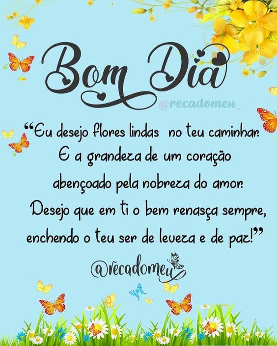 Eu desejo flores lindas