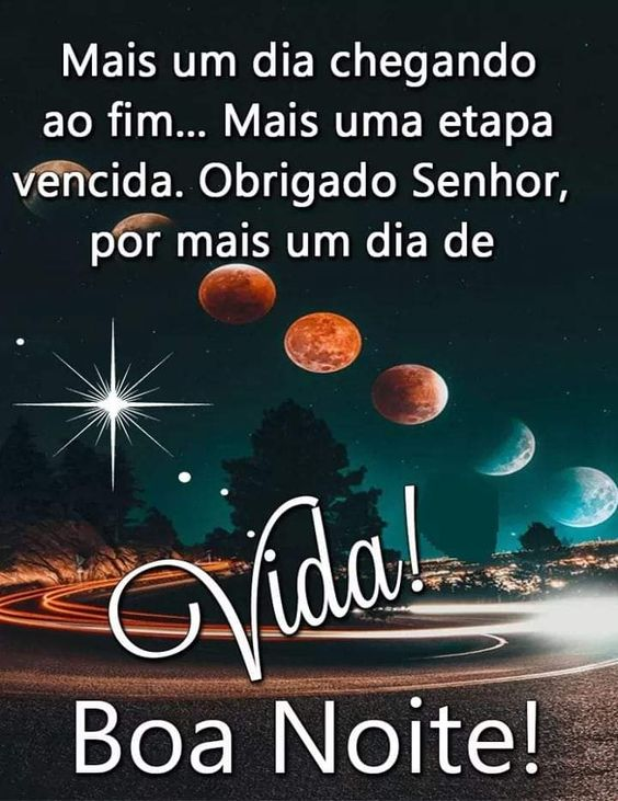 Mensagem linda de boa noite