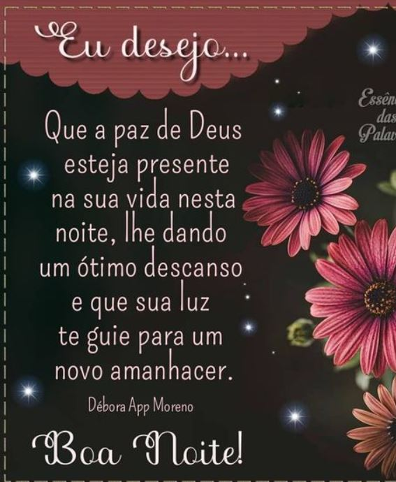 Paz de Deus presente