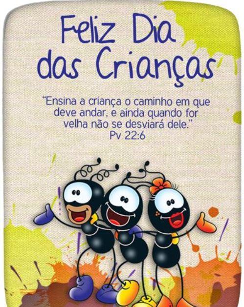 Feliz dia das crianças Bíblico