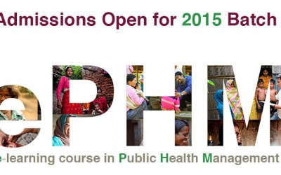 Health Financing – A snapshot of the ePHM course classroom