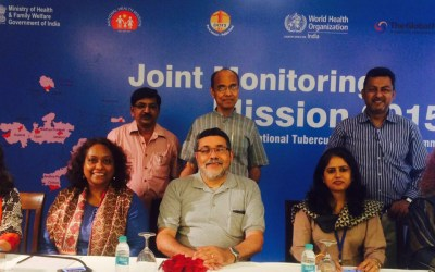 IPH faculty at Joint Monitoring Mission for Revised National Tuberculosis Control Programme