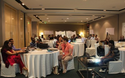 e-Learning workshop 2015: Participants in action