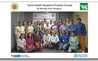 2nd Regional Course on Good Health Research Practice hosted by IPH & UGM