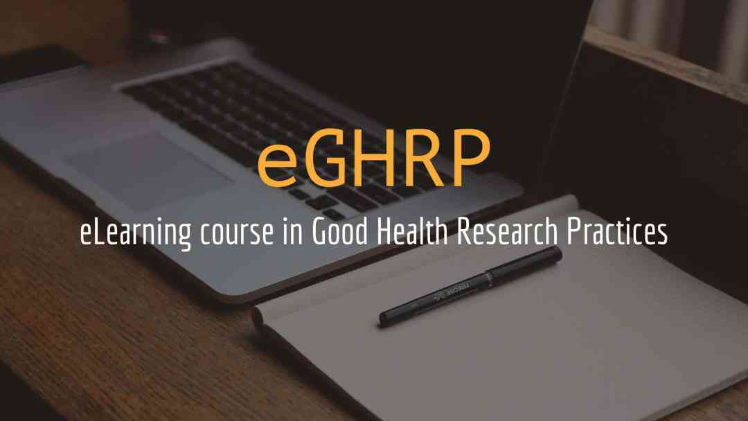 eGHRP, Good Health Research Practice