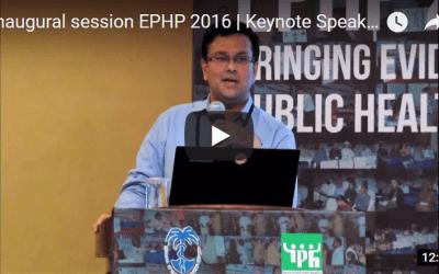 Inaugural session EPHP 2016 | Keynote Speaker | Kabir Sheikh