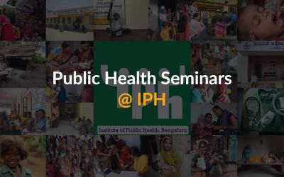 IPH Seminar: Public Health Architecture and Realist Methodology