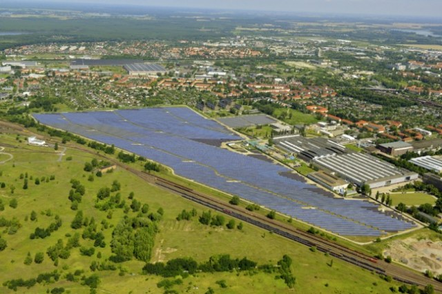 Googles Beteiligung am Solarpark Brandenburg (Havel)